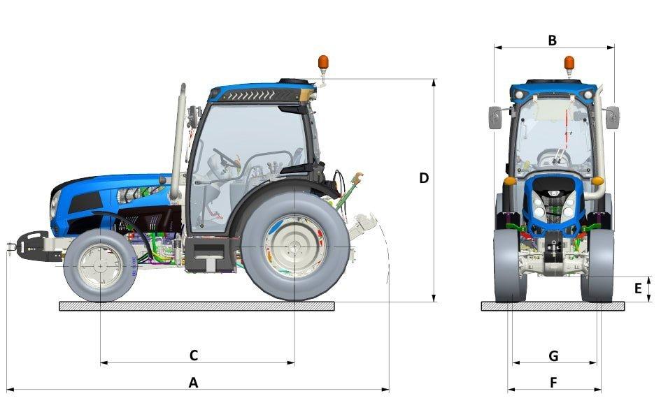 Landini Rex 4 V bez kabine kokot agro jastrebarsko traktor hrvatska kupovinaLandini Rex 4 s kabinom kokot agro jastrebarsko traktor hrvatska kupovina
