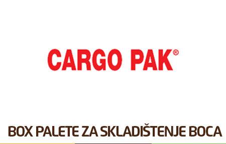 Box palete za skladištenje boca Cargo Pak